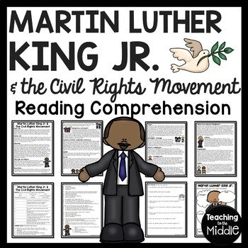Martin Luther King Jr. & Civil Rights Movement Reading Com