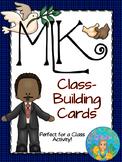 Martin Luther King, Jr. Kagan Classbuilding Activity Cards