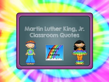 Martin Luther King Jr. Quotes and Writing Prompts