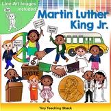 Martin Luther King Jr. Clip Art