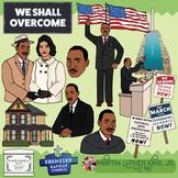 Martin Luther King, Jr. Clip Art
