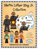 Martin Luther King Jr. Clip Art Collection - Line art included!