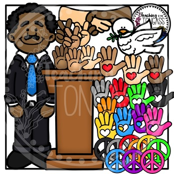 Martin Luther King Jr. Clipart (Martin Luther King Clipart ...