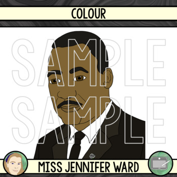 Martin Luther King Jr. Clipart FREE