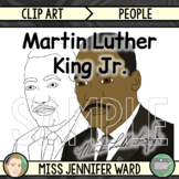 Martin Luther King Jr. Clip Art FREE