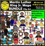 Martin Luther King Jr. Clipart   MLK Personal and Commercial Use Updated
