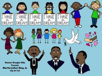 Free Martin Luther King Day Teaching Resources Lesson Plans