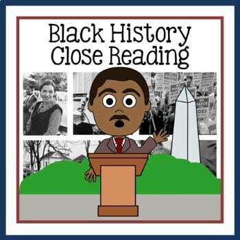 Martin Luther King, Jr. Close Reading Passages and Writing