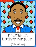 Martin Luther King, Jr. Color & Learn Book ~ Social Studies