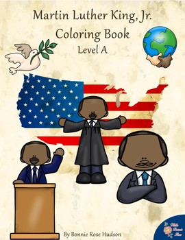 Martin Luther King, Jr. Coloring Book—Level A