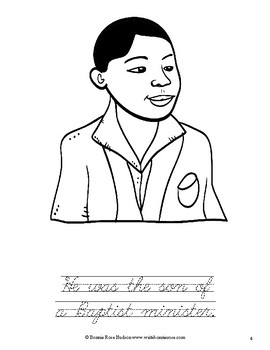 Martin Luther King, Jr. Coloring Book —Level C