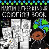 Martin Luther King Jr. Coloring Book {Made by Creative Clips Clipart}