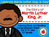 Martin Luther King, Jr. Coloring Book and Reading Comprehe