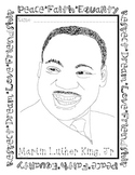 Martin Luther King, Jr. Coloring Page FREEBIE