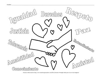 Martin Luther King, Jr. Coloring Pages - SPANISH