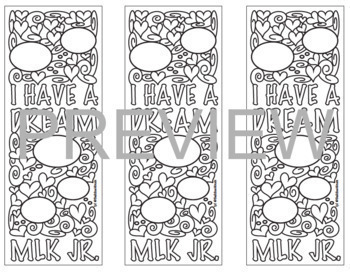 Martin Luther King Jr. Coloring & Puzzles BUNDLE!