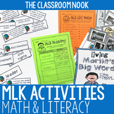Martin Luther King Jr. Common Core Activities {Math and Literacy}