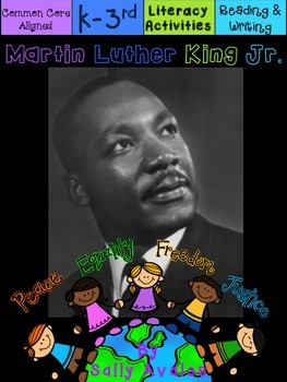 Martin Luther King Jr. Reading & Writing  Activities, Clos