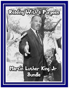Martin Luther King Jr. Common Core Bundle
