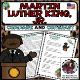 Martin Luther King Jr. Compare and Contrast Poem to Nonfic