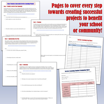 Martin Luther King, Jr. Service Learning Project Packet