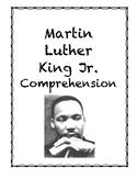 Martin Luther King Jr. Comprehension Packet