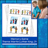 Martin Luther King, Jr Concentration / Memory Game