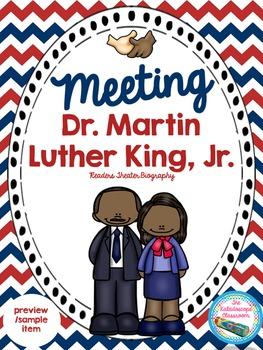 Martin Luther King, Jr. & Coretta Character Traits Freebie