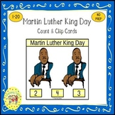 Martin Luther King Clip Task Cards