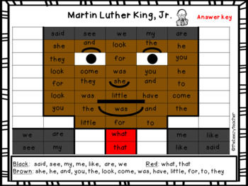Martin Luther King, Jr. Craft