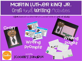 Martin Luther King Jr. Craft and Writing Activities