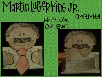 Martin Luther King, Jr. Craftivity!