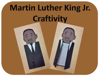 Martin Luther King Jr. Craftivity (Black History Month)
