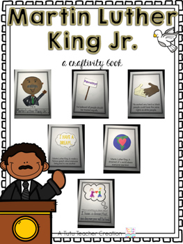 Martin Luther King Jr. Craftivity Book