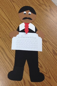 Martin Luther King Jr. Craftivity (A Black History Month Craftivity)