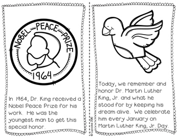 Martin Luther King, Jr. {Craftivity & Reader}