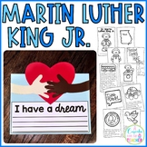 Martin Luther King, Jr. Craftivity & Reader