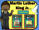 Martin Luther King Jr.  MLK  Spanish Craftivity Writing, Math & Art Mrs. Partida