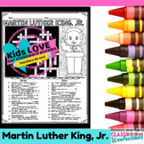 Martin Luther King, Jr. Crossword Puzzle