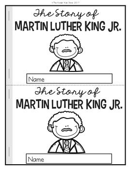 Martin Luther King, Jr. (Crown and Reader)