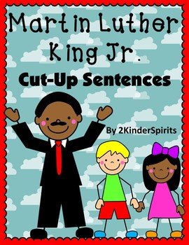 Martin Luther King Jr. Cut-Up Sentences