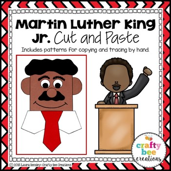 Martin Luther King Jr. Cut and Paste