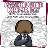 Martin Luther King Jr. DAY Activities and Comprehension to Study the Holiday
