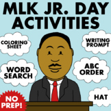 Martin Luther King Jr. Day Activities - NO PREP!   Fun MLK Jr. Day Packet