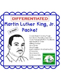 Martin Luther King, Jr. Day Activities Packet