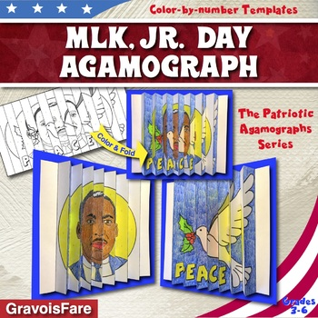 Martin Luther King, Jr. Day Activities and Crafts: MLK, Jr. Agamograph