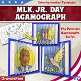 Martin Luther King Jr. Activities and Crafts: MLK Jr. Agamograph