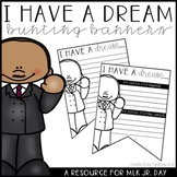 "Martin Luther King Jr. Day Bunting Banners - ""I Have a Dream..."""