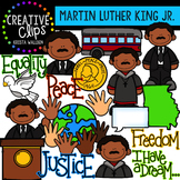 Martin Luther King Jr. Clipart: {Creative Clips Digital Clipart}