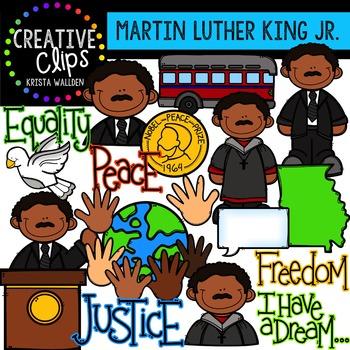 martin luther king jr clipart creative clips digital clipart rh teacherspayteachers com martin luther king clip art martin luther king clip art